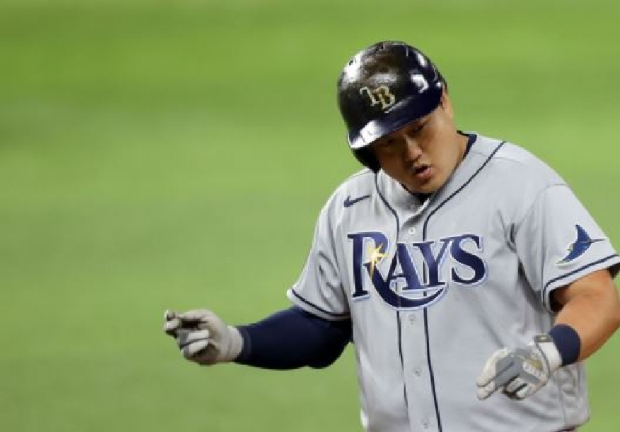 Rays' Choi Ji-man gets 1st career World Series hit in win over Dodgers