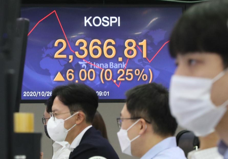 Seoul stocks open higher on US stimulus hopes