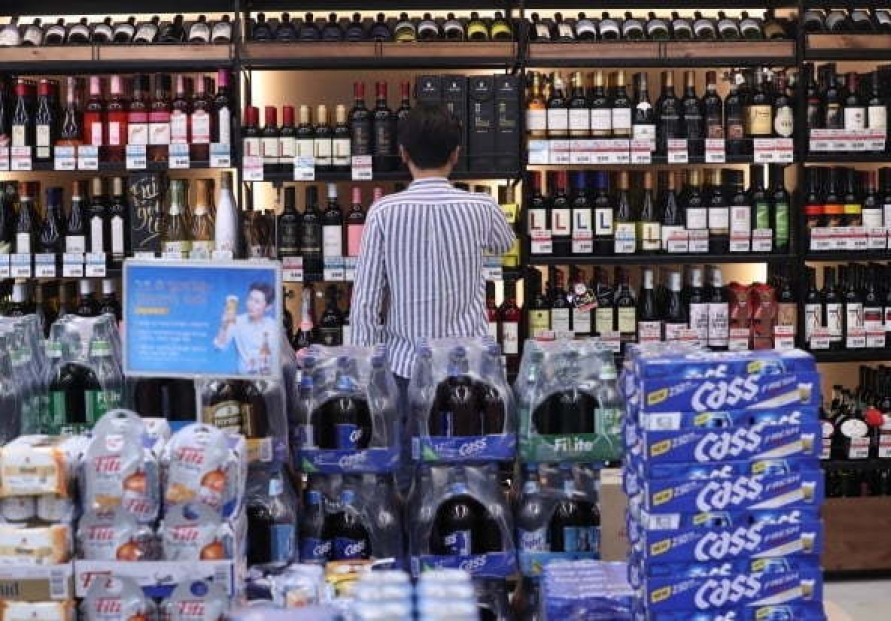 S. Korea's beer exports more than halve this year on virus