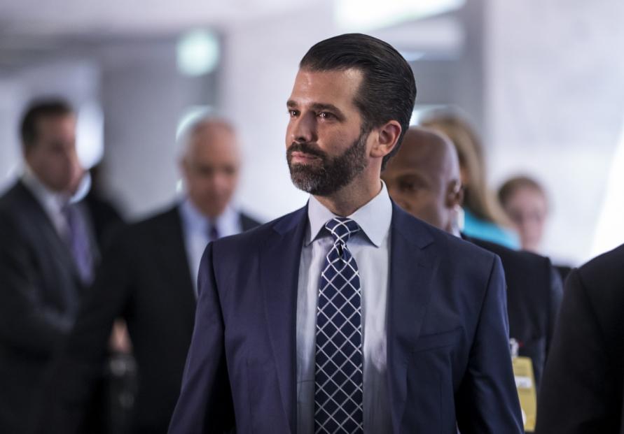 Trump's son Don Jr positive for Covid-19: spokesman