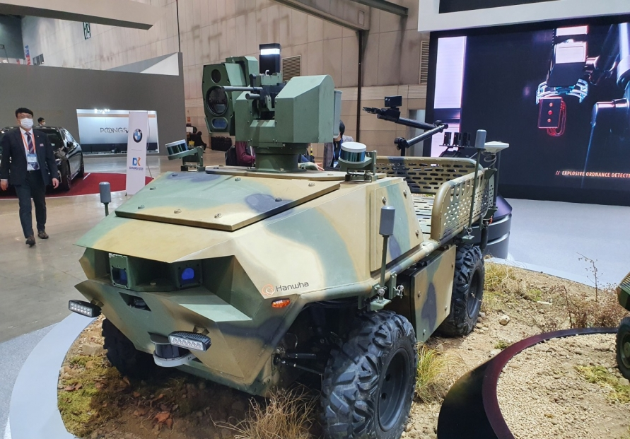 [From the Scene] Drones the highlight of DX Korea defense expo