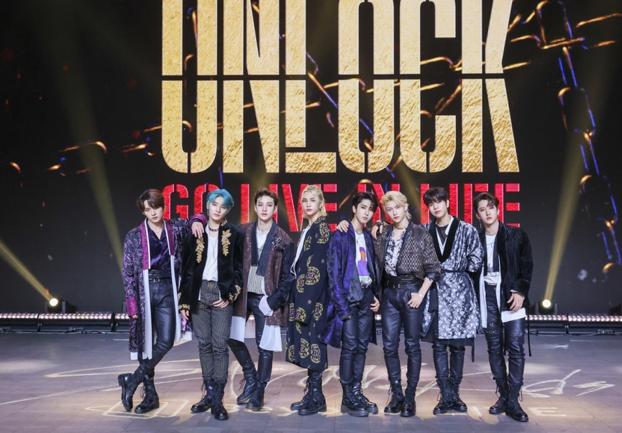 Stray Kids 'unlock' pandemic-hit stage with virtual concert