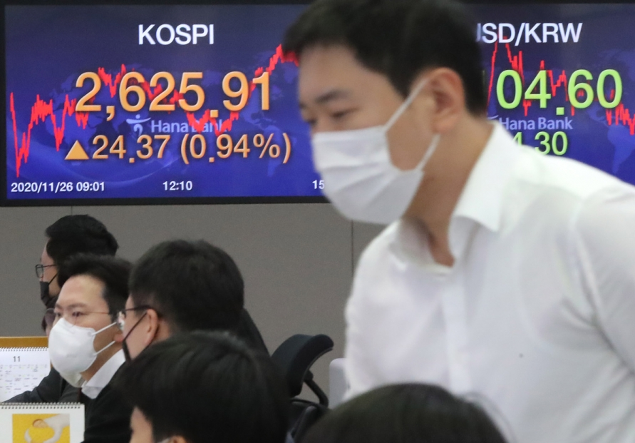 Seoul stocks close at all-time high on improved growth forecast