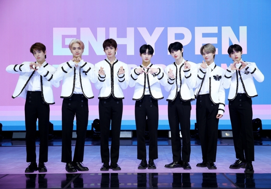 Rookie band ENHYPEN hopes to be remembered as 'global, fan-made group'