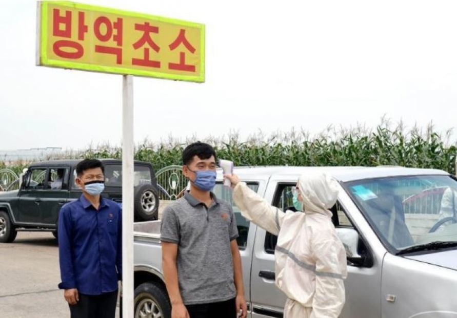 [Newsmaker] North Korea enforces tougher antivirus measures in Pyongyang amid heightened alert
