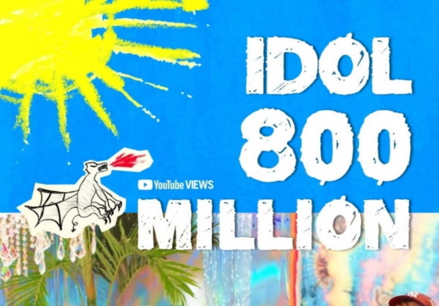 'Idol' becomes 5th BTS music video to hit 800m YouTube views