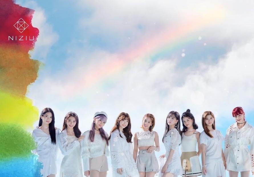 Rookie girl group NiziU tops Japan music chart with debut album