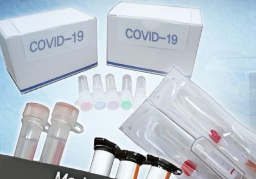Korea's exports of COVID-19 diagnostic reagents notch W2.5tr