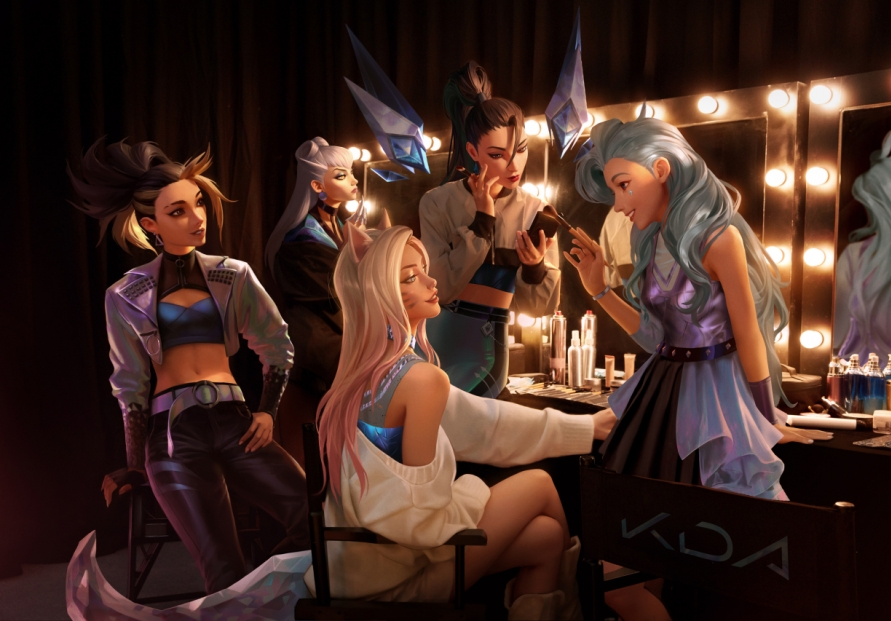 [Herald Interview] Pop stars and 'MORE': Girl group K/DA comes 'ALL OUT' with first EP