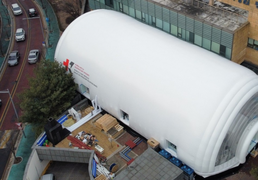 KAIST hopes to revolutionize disease control with mobile clinic module