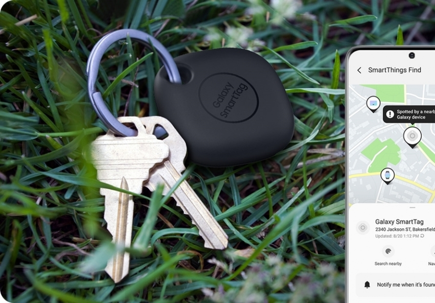 Samsung Electronics launches smart tracking tag
