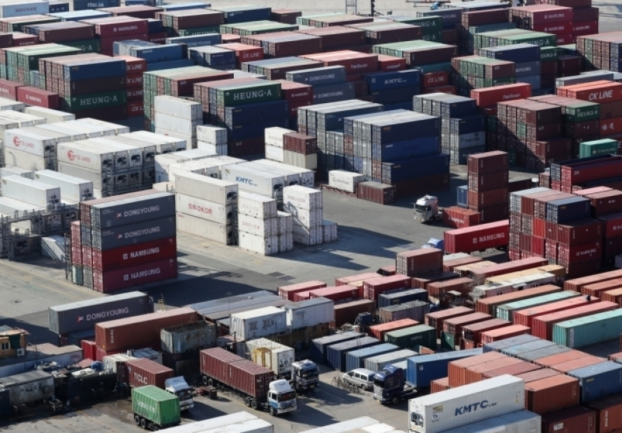 S. Korea's exports grow 10.6% in first 20 days of Jan.