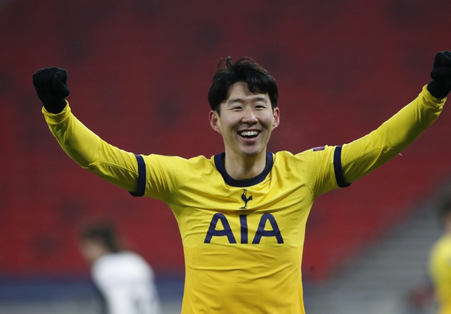 Son Heung-min scores 18th of season in Europa League