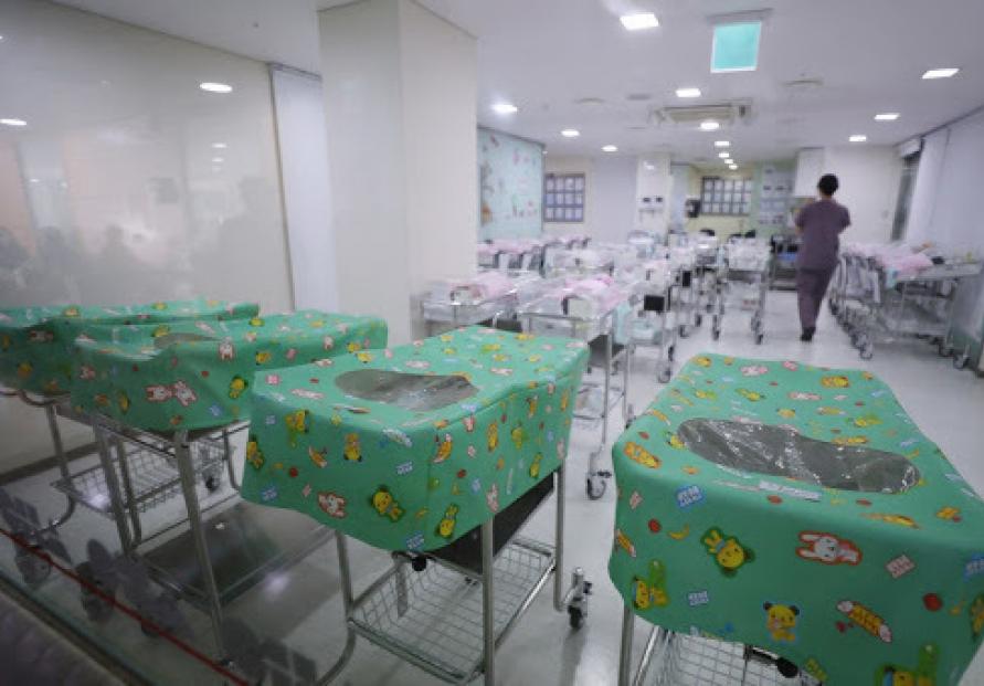 S. Korea suffers 1st population decline last year on record low births