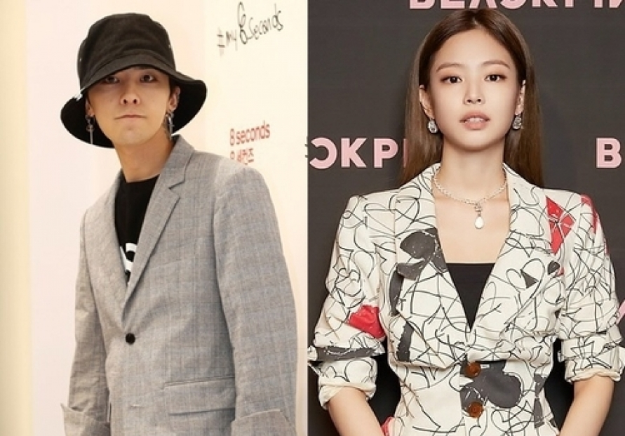 Agency refuses to confirm report Jennie, G-Dragon are dating