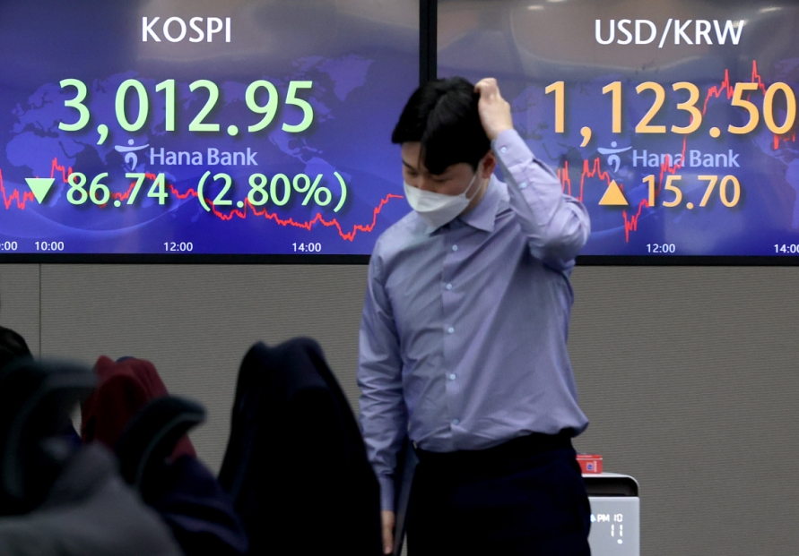 Seoul stocks likely to remain choppy next week on inflationary woes