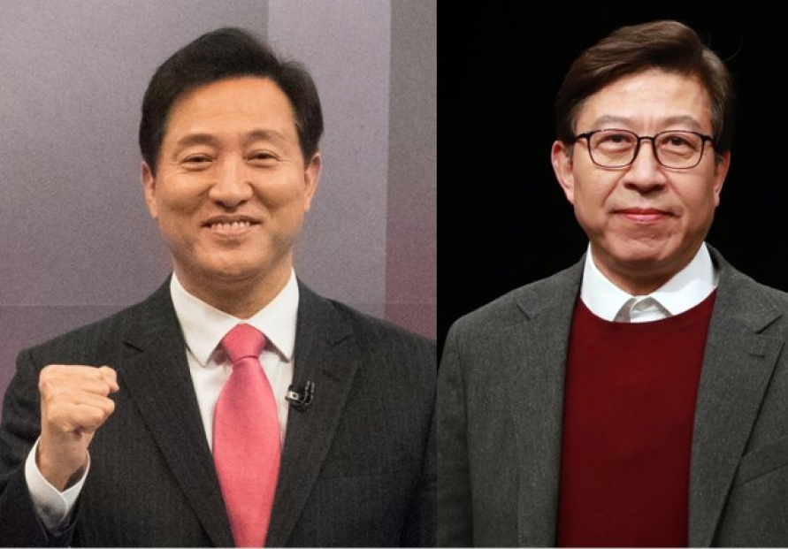 [Newsmaker] Ex-Seoul Mayor Oh Se-hoon wins main opposition's ticket for Seoul mayoral election