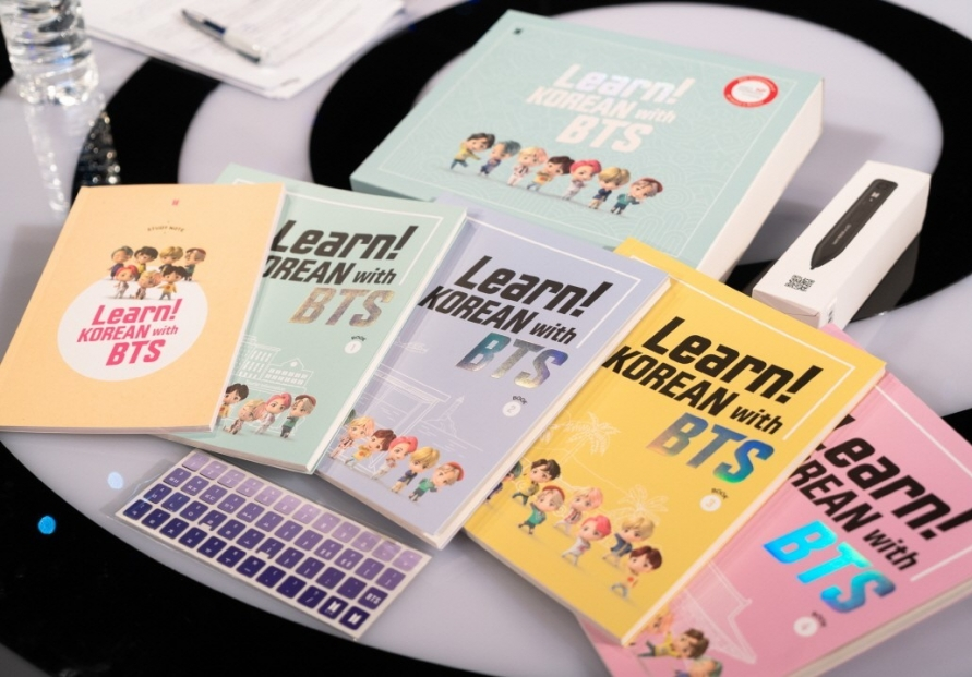 University of Sheffield students learn Korean with BTS