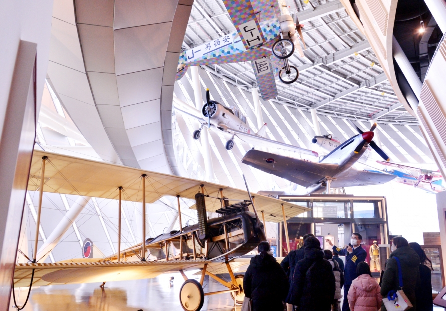 [Eye Plus] National Aviation Museum of Korea captures remarkable advances over the past 100 years