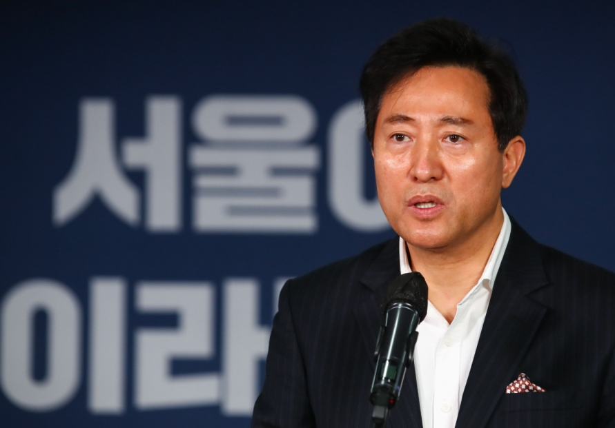 Month before Seoul mayor election, unifying opposition candidacies remains key factor