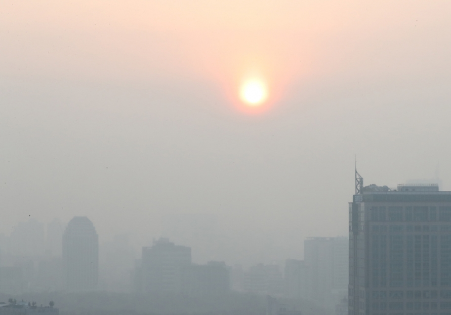 [Photo News] Seoul covered in hazy fine dust