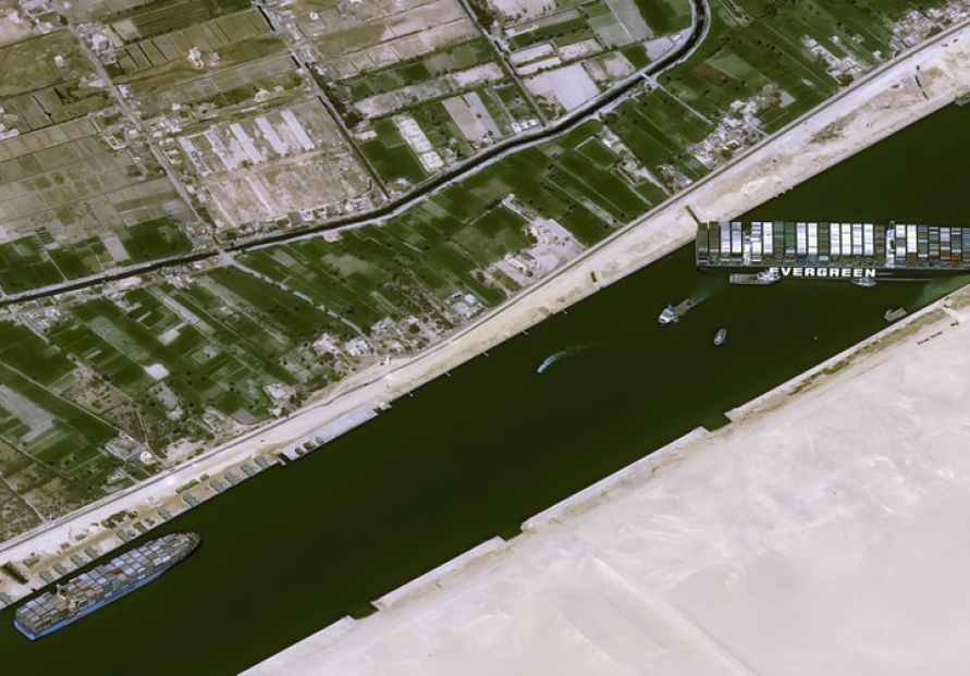 [Explainer] Suez Canal block could hit product supply chains