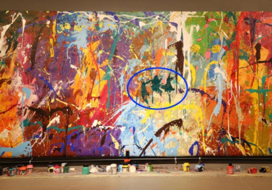 Graffiti artist JonOne wants his damaged work restored