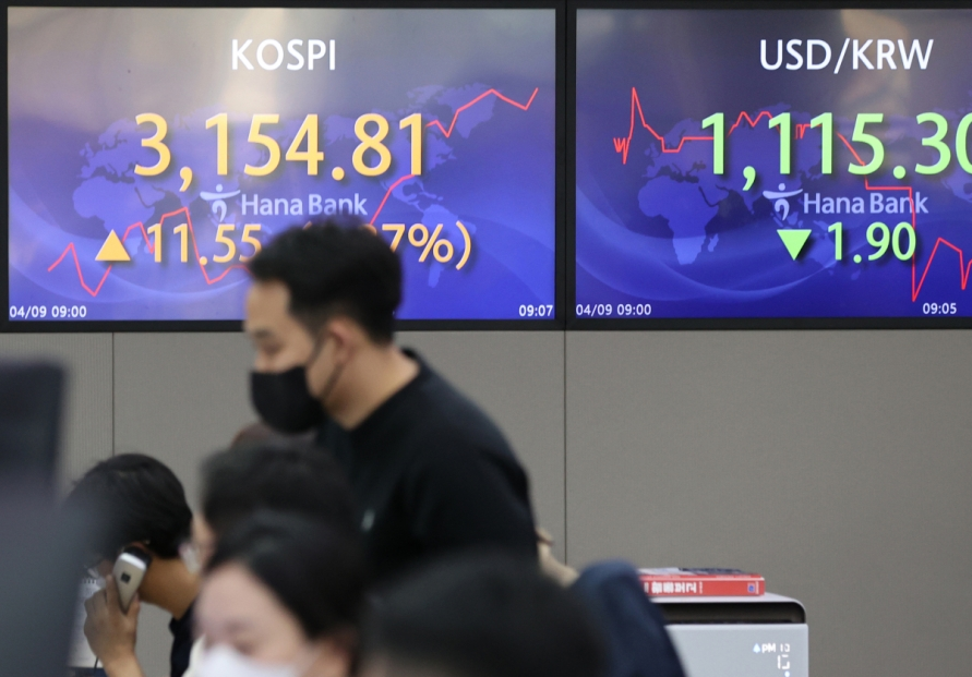 Seoul stocks open tad higher on hopes for global economic recovery