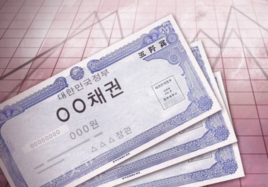 S. Korea's bond issuance falls in March