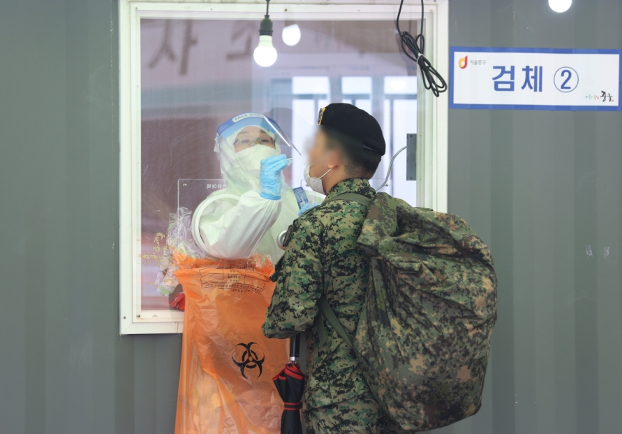 Two Army members test positive for new coronavirus
