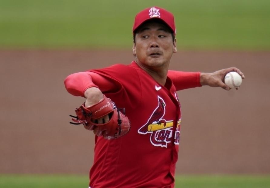 Cardinals' pitcher Kim Kwang-hyun to make season debut on weekend