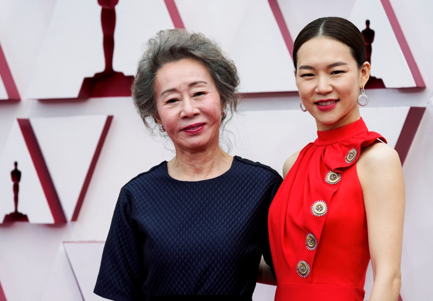 Youn makes history at the Oscars