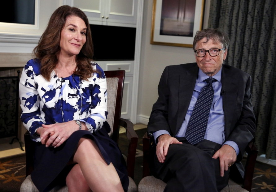 [Newsmaker] Bill and Melinda Gates announce they are getting divorced