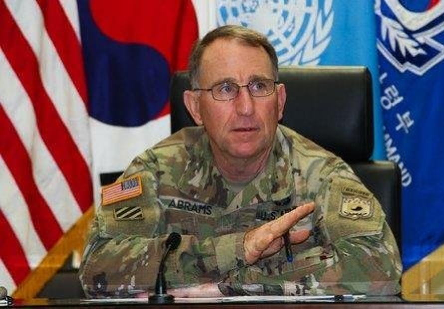 USFK commander to receive Korean name at farewell event