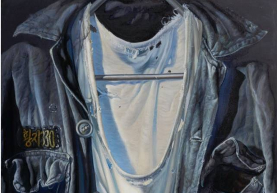 Painter Hwang Jai-hyoung infuses soul into paintings dedicated to workers