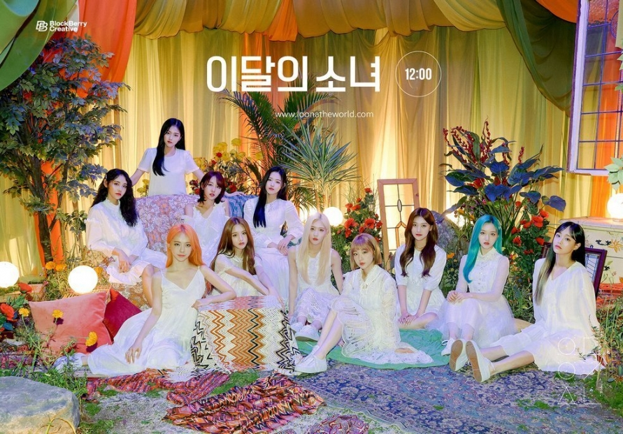 K-pop girl group Loona to promote Korean culture overseas