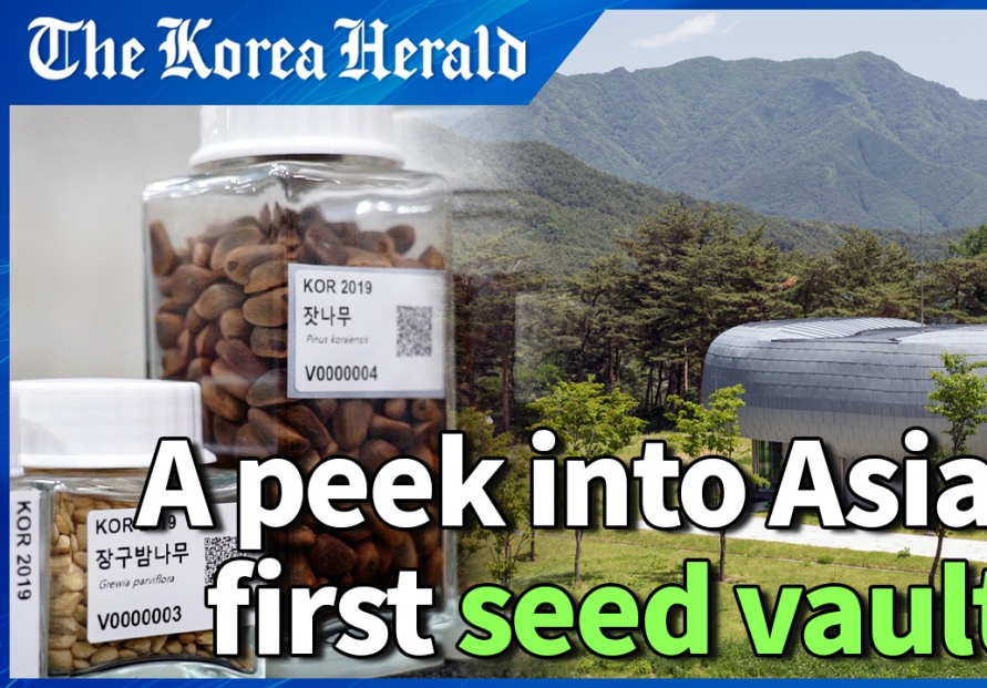[Video] Inside Asia's first underground seed vault