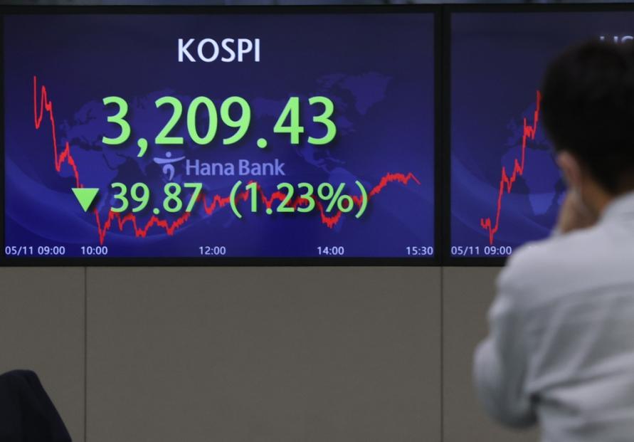 Seoul stocks dip on inflation worries