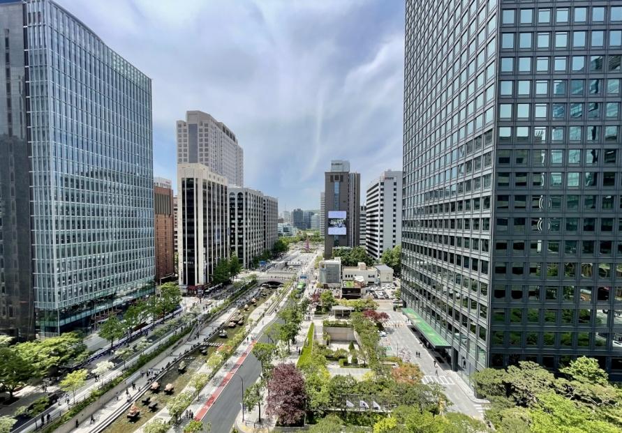 Green architecture brings fresh air