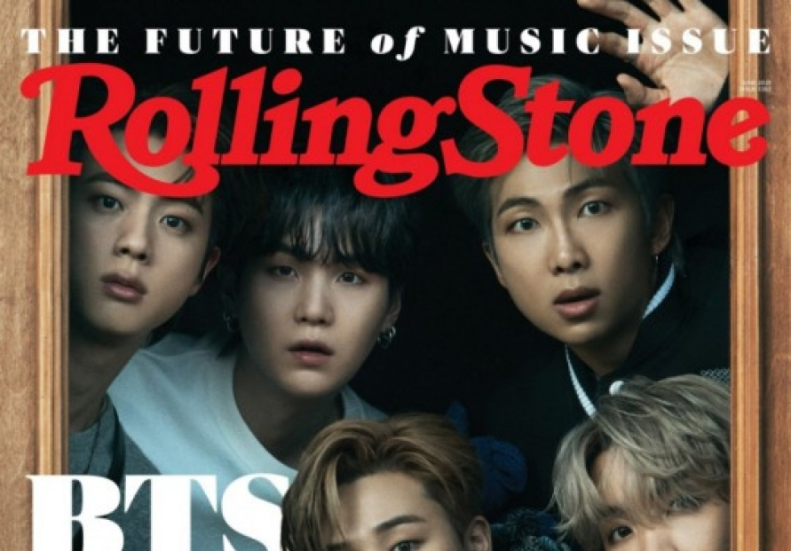 BTS graces cover of Rolling Stone