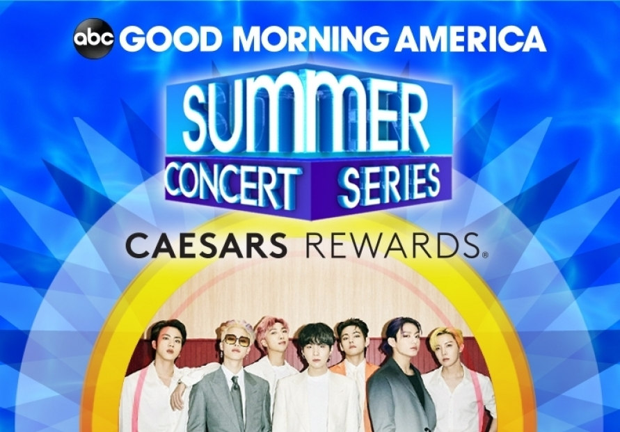 BTS to perform on 'Good Morning America' summer concert series