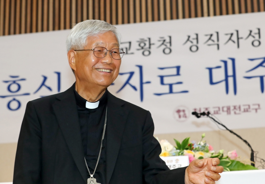 [Newsmaker] S. Korea's first Vatican prefect looks forward to arranging pope's visit to NK