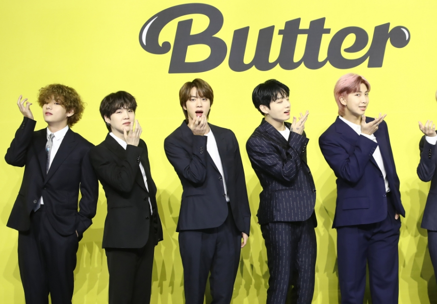 BTS smashes record as 'Butter' tops Billboard Hot 100 for 3rd week