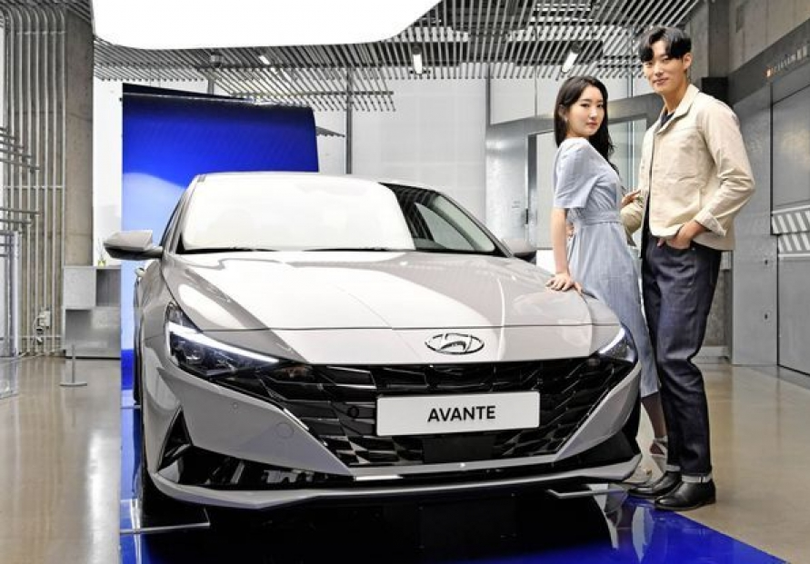 Hyundai's new Avante sells over 100,000 units within one year