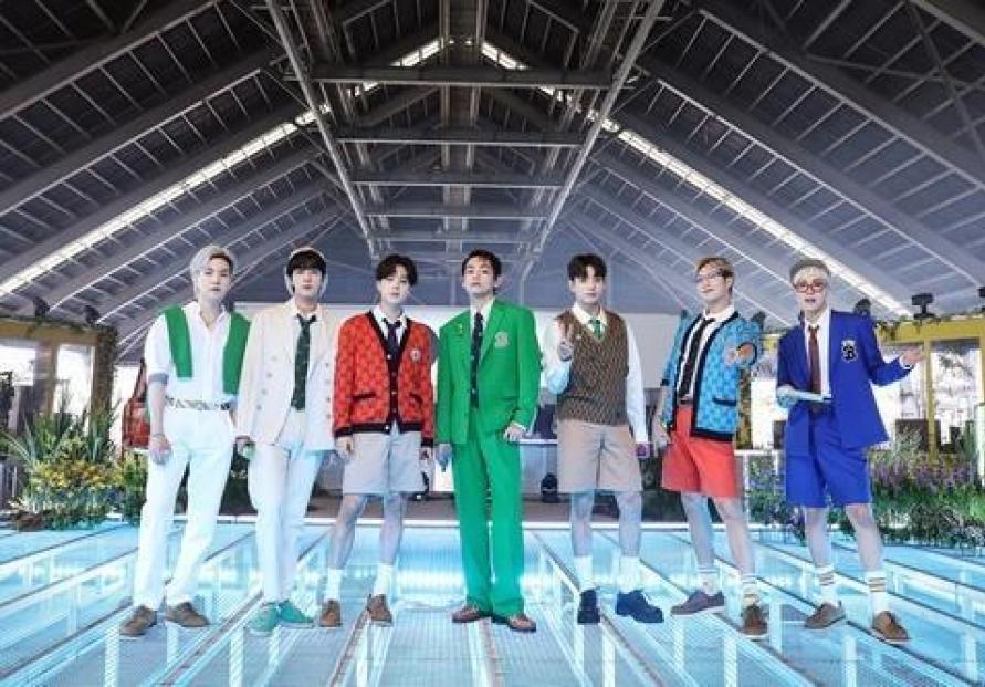 BTS drops R&B remix of 'Permission to Dance'