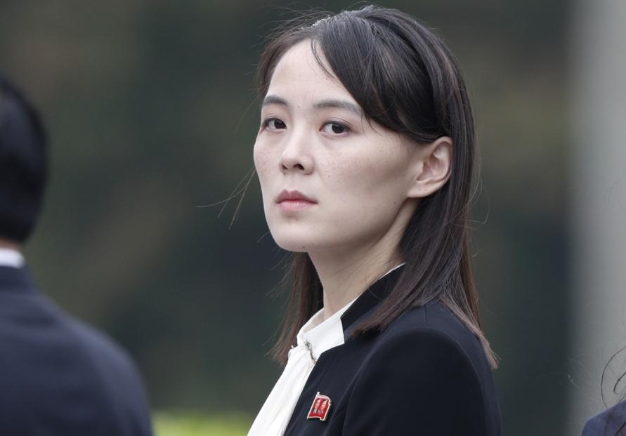 N.K. leader's sister warns S. Korea-U.S. military exercise will cloud inter-Korean relations