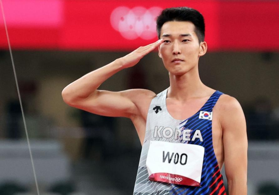 [Tokyo Olympics] S. Korean high jumper Woo Sang-hyeok makes history in Tokyo