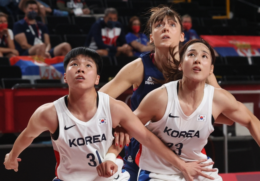 [Tokyo Olympics] Women's basketball team hopeful for better future after tight Olympic battles