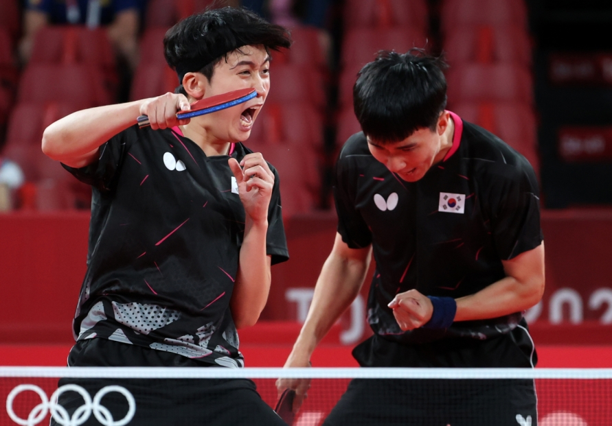 [Tokyo Olympics] Korean table tennis players not fearing China ahead of potential showdown
