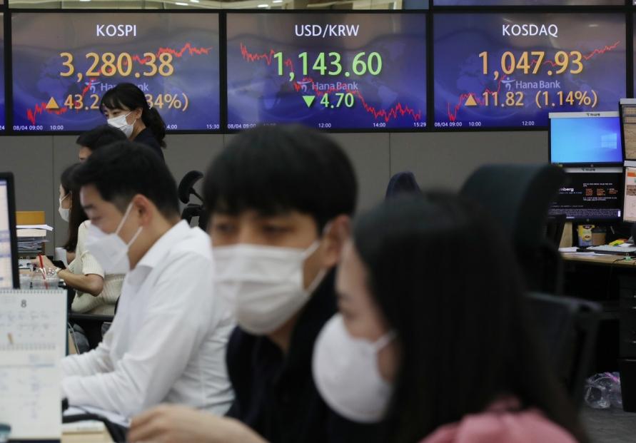 Seoul stocks spike over 1% on tech gains